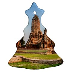 Chaiwatthanaram Christmas Tree Ornament (2 Sides) by trendistuff