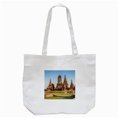 Chaiwatthanaram Tote Bag (white)  by trendistuff