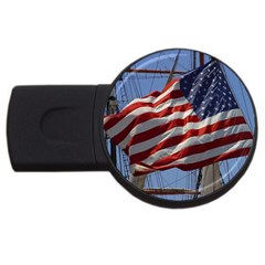 Flag USB Flash Drive Round (1 GB) by haleyhearingA