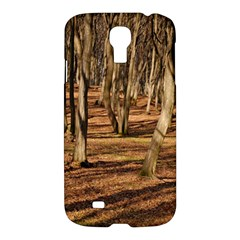 Wood Shadows Samsung Galaxy S4 I9500/i9505 Hardshell Case by trendistuff