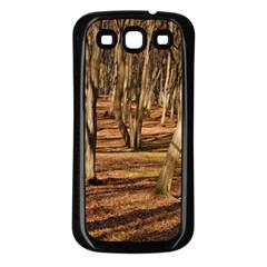Wood Shadows Samsung Galaxy S3 Back Case (black) by trendistuff