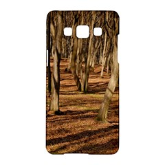 Wood Shadows Samsung Galaxy A5 Hardshell Case  by trendistuff