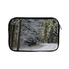 Snow On Road Apple Ipad Mini Zipper Cases by trendistuff