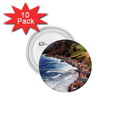 Scotland Crovie 1 75  Buttons (10 Pack) by trendistuff