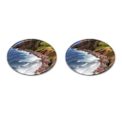 Scotland Crovie Cufflinks (oval) by trendistuff