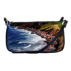 Scotland Crovie Shoulder Clutch Bags by trendistuff