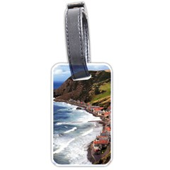 Scotland Crovie Luggage Tags (one Side)  by trendistuff
