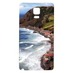 Scotland Crovie Galaxy Note 4 Back Case by trendistuff