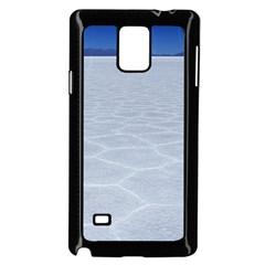 Salt Flats Samsung Galaxy Note 4 Case (black) by trendistuff