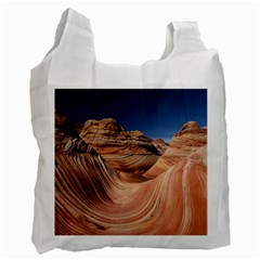 Petrified Sand Dunes Recycle Bag (two Side)  by trendistuff