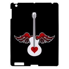 Flying Heart Guitar Apple Ipad 3/4 Hardshell Case by waywardmuse