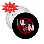 Hail Seitan 2.25  Buttons (10 pack)  Front