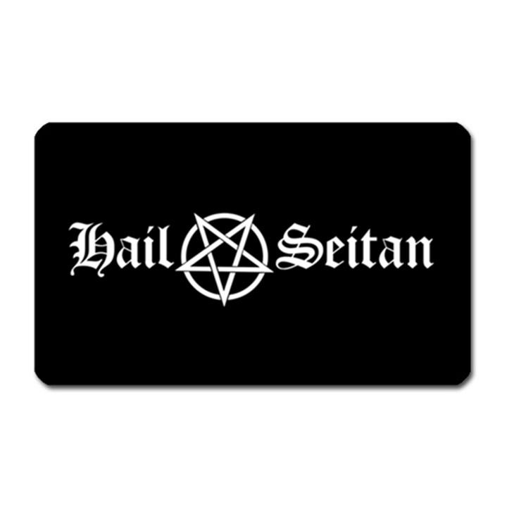 Hail Seitan Magnet (Rectangular)