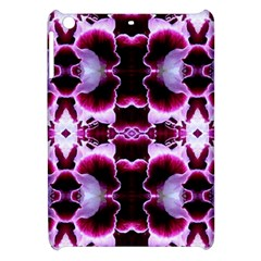 White Burgundy Flower Abstract Apple Ipad Mini Hardshell Case
