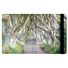 Dark Hedges, Ireland Apple Ipad 2 Flip Case by trendistuff