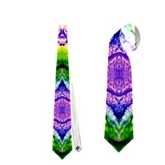 Green,purple Yellow ,goa Pattern Neckties (two Side)  by Costasonlineshop