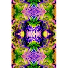 Green,purple Yellow ,goa Pattern 5 5  X 8 5  Notebooks