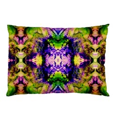 Green,purple Yellow ,goa Pattern Pillow Cases (two Sides)