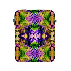 Green,purple Yellow ,goa Pattern Apple Ipad 2/3/4 Protective Soft Cases by Costasonlineshop
