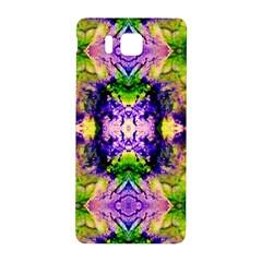 Green,purple Yellow ,goa Pattern Samsung Galaxy Alpha Hardshell Back Case