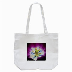 Purple Beauty Tote Bag (white)  by timelessartoncanvas