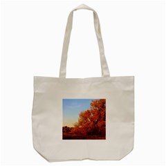 Beautiful Autumn Day Tote Bag (cream)  by trendistuff
