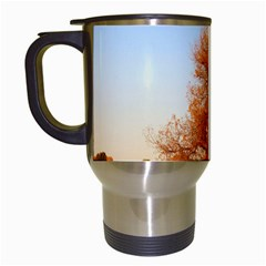 Beautiful Autumn Day Travel Mugs (white) by trendistuff