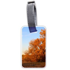 Beautiful Autumn Day Luggage Tags (one Side)  by trendistuff