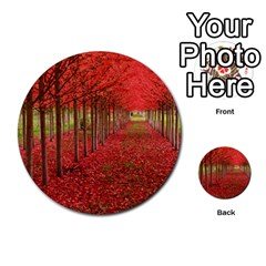 Avenue Of Trees Multi Purpose Cards (round)  by trendistuff