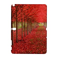 Avenue Of Trees Samsung Galaxy Note 10 1 (p600) Hardshell Case by trendistuff
