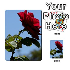 Red Rose 2 Multi Purpose Cards (rectangle)  by trendistuff