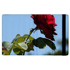 Red Rose 2 Apple Ipad 3/4 Flip Case by trendistuff