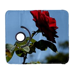 Red Rose 2 Samsung Galaxy S  Iii Flip 360 Case by trendistuff