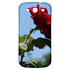 Red Rose 2 Samsung Galaxy S3 S Iii Classic Hardshell Back Case by trendistuff