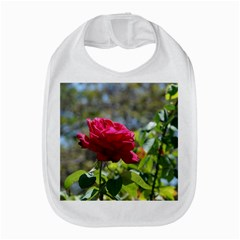 Red Rose 1 Bib by trendistuff