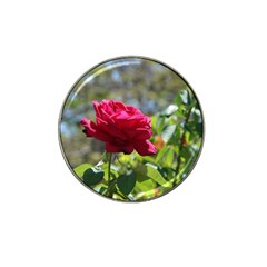 Red Rose 1 Hat Clip Ball Marker (10 Pack) by trendistuff