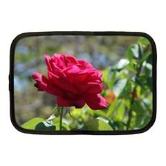 Red Rose 1 Netbook Case (medium)