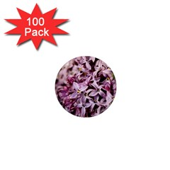Purple Lilacs 1  Mini Magnets (100 Pack)  by trendistuff