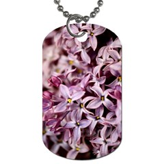 PURPLE LILACS Dog Tag (One Side) by trendistuff