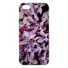 Purple Lilacs Apple Iphone 5 Premium Hardshell Case by trendistuff