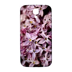 Purple Lilacs Samsung Galaxy S4 I9500/i9505  Hardshell Back Case