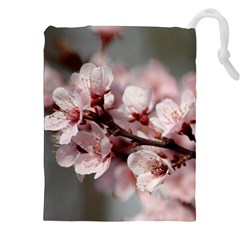 Plum Blossoms Drawstring Pouches (xxl) by trendistuff