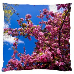 PINK FLOWERS Standard Flano Cushion Cases (Two Sides)  by trendistuff