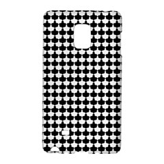 Black And White Scallop Repeat Pattern Galaxy Note Edge by PaperandFrill