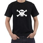 Skull & Crossbones Men s T-Shirt (Black)