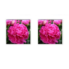 Paeonia Eleanor Cufflinks (square) by trendistuff