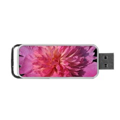 Paeonia Coral Portable Usb Flash (one Side) by trendistuff