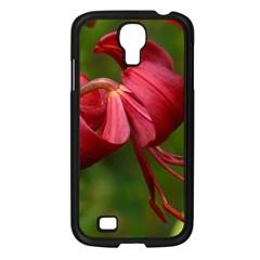 Lilium Red Velvet Samsung Galaxy S4 I9500/ I9505 Case (black) by trendistuff