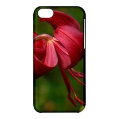 Lilium Red Velvet Apple Iphone 5c Hardshell Case by trendistuff