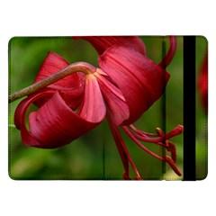 Lilium Red Velvet Samsung Galaxy Tab Pro 12 2  Flip Case by trendistuff